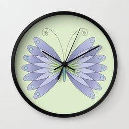 Digital Butterfly Wall Clock