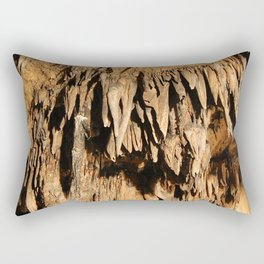 Cave Rock Stone Sharp inside crystal Rectangular Pillow