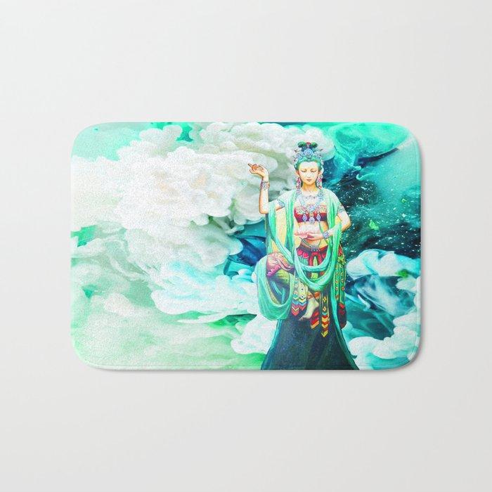 The Goddess of Mercy Bath Mat