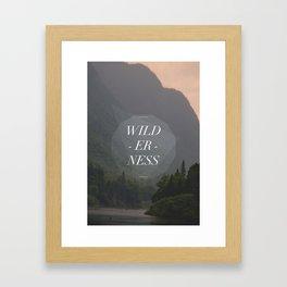 WILDERNESS — Framed Art Print