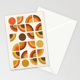Kosher - retro throwback minimalist 70s abstract 1970s style trend Stationery Cards