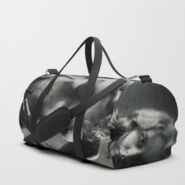 Girl with textures Duffle Bag
