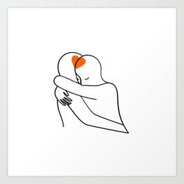 Love waits Art Print