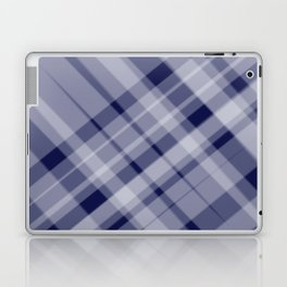 blue and white picnic Laptop & iPad Skin