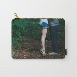 Legs of a Couple Kissing Carry-All Pouch