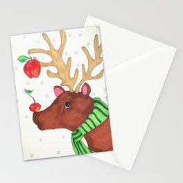 Wishing Rudolf  Stationery Cards