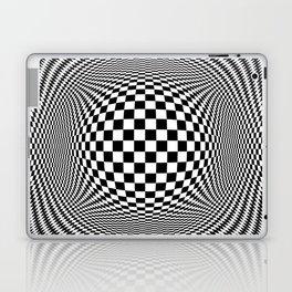 Optical Illusion Checkers Chequeres  Laptop & iPad Skin