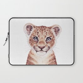 Lion Cub, Baby Animals, Safari Nursery Animals Cute Baby Room Gifts Laptop Sleeve