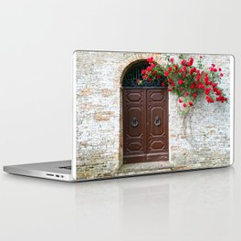 Italian Red Roses Laptop & iPad Skin