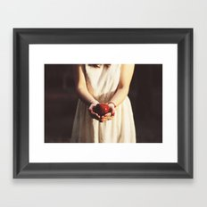 Poison apple Framed Art Print
