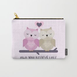 Owl is love Carry-All Pouch