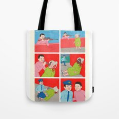 Know your Enemy Tote Bag