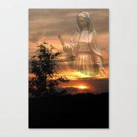 madonna Canvas Prints featuring Madonna by Elke Balzen