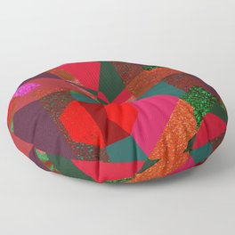 PARTY-COLORED Floor Pillow