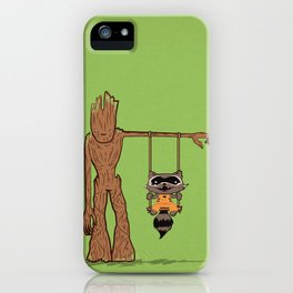 Come Swing With Me iPhone Case