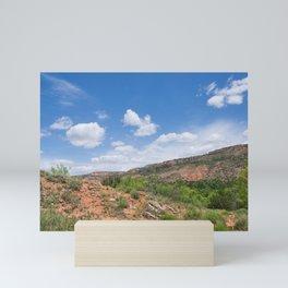 Texas Canyon 2 Mini Art Print