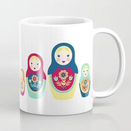 Matryoshka Dolls Coffee Mug
