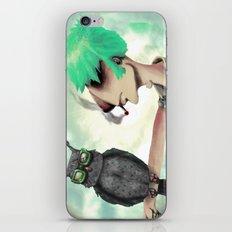 Punk N' A Bird iPhone & iPod Skin