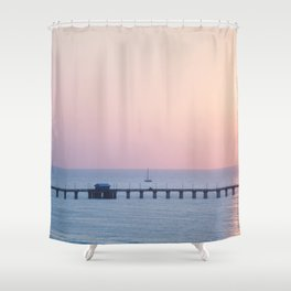 Morning Sail x Florida Coast Shower Curtain