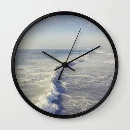 Manhattan Beach, CA Waves Wall Clock