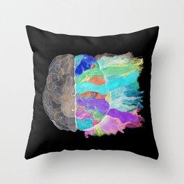 Be Creative inverse Throw Pillow