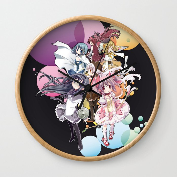 Puella Magi Madoka Magica - Only You Wall Clock