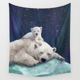 Polar Bears Wall Tapestry