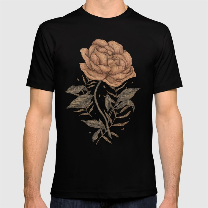 Peony and Ferns T-shirt