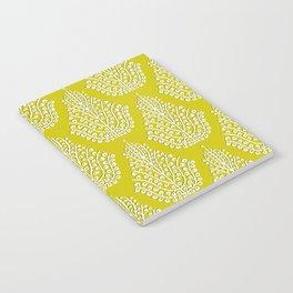 SPIRIT lime white Notebook