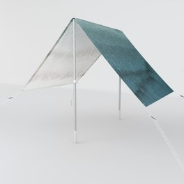 WITHIN THE TIDES - CRASHING WAVES TEAL Sun Shade