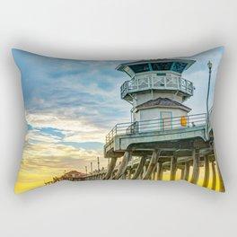 Zero at Sunset Rectangular Pillow