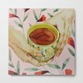 tea time Metal Print