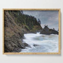 Oregon Coastline Serving Tray
