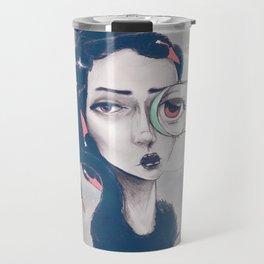 Rare Royal through the looking glass Travel Mug