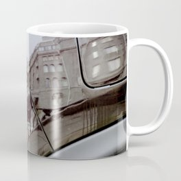 The reflection in the car Coffee Mug