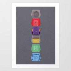 MST3K Doors  Art Print