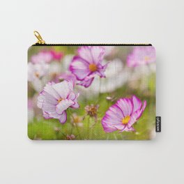 Bunch of Cosmos Bipinnatus flowers Carry-All Pouch