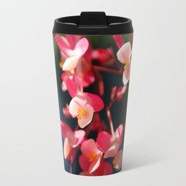 Flower Bokeh Travel Mug