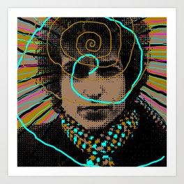 Bob Dylan Goin' Nowhere Art Print