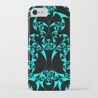 skyrim iPhone & iPod Cases featuring Celtic Loop Green by Astrablink7
