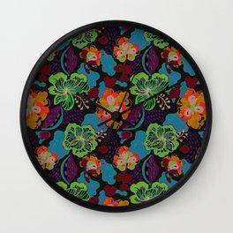 Hand Drawn Floral 0053 Wall Clock