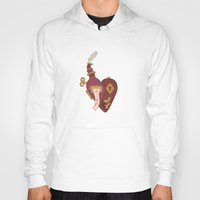 valentines Hoodies featuring Steampunk Valentines by S. Vaeth