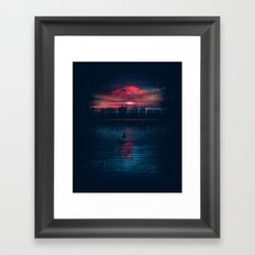 The World Beneath Framed Art Print