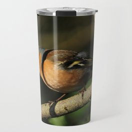 Chaffinch Donegal Ireland Travel Mug