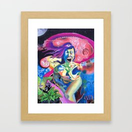 Imbalance in Chaos Framed Art Print
