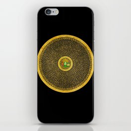 Protect love iPhone Skin