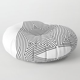OPTICAL ILLUSIONS Floor Pillow