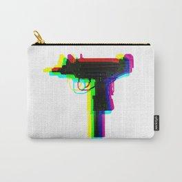 rainbow glitch uzi Carry-All Pouch