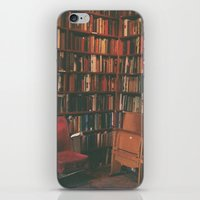library iPhone & iPod Skins featuring library by Taylor Yocom