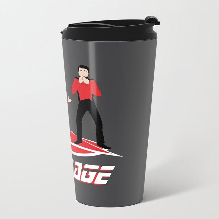 Long Trek to Forever Metal Travel Mug